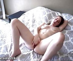 Young & Hairy Foot Fetish & Solo Masturbation Alice Merchesi