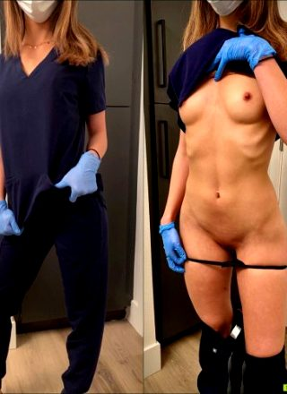 A Little On/off Action From A Horny Nurse?