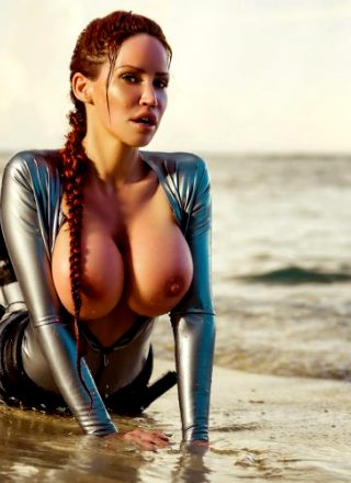 Bianca Beauchamp As Lara Croft NSFW