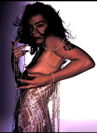 Bjork And Her Nipple Ring