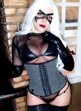 Boudoir Black Cat By Nooneenonicos