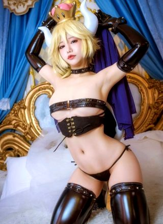 Bowsette In The Lewd By Miss Hedy