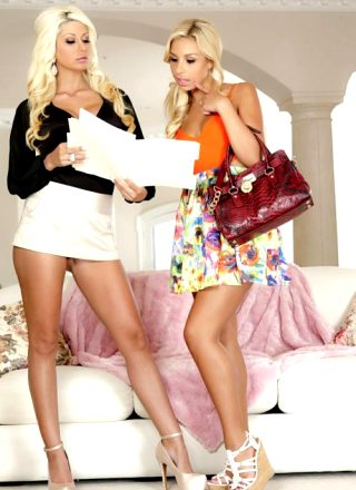 Carmen Caliente And Jazy Berlin In Complete Satisfaction