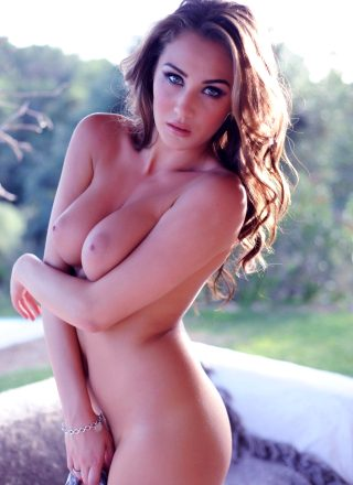 Chloe Goodman Stripping To Nude From Her Animal Bodysuit