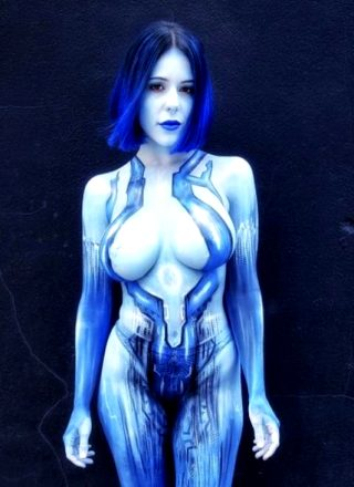 Cortana By Cortana Blue