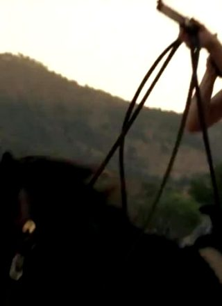 Evan Rachel Wood, On Horseback From Westworld Trailer.