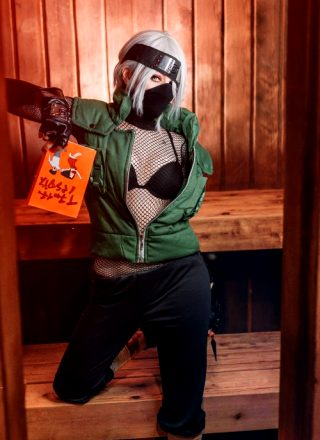 Female Kakashi Cosplay By Ri Care