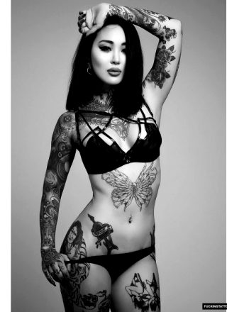 Inked Up Asian