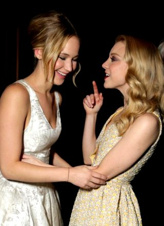 Jennifer Lawrence And Natalie Dormer