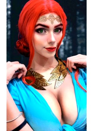 Kamicosplayer As Triss