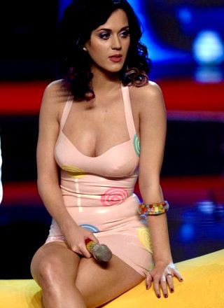 Katy Perry In Latex Was Unreal