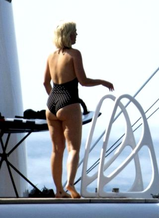 Katy Perry's Ass In A Swimsuit