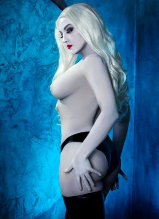 Lady Death By Zoe Volf 🖤