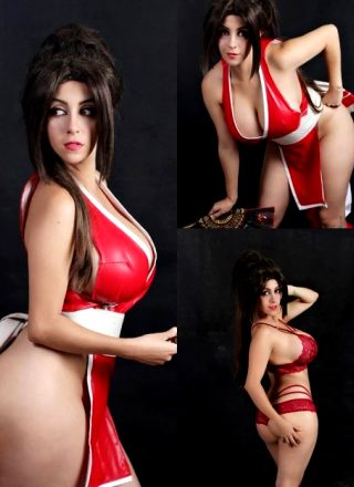 Mai Shiranui By Keira-lex Cosplay