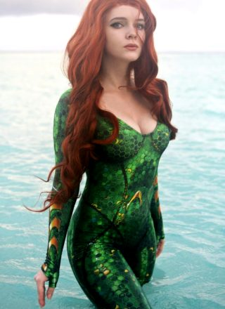 Mera Cosplay From Aquaman Movie ~ By Evenink_cosplay