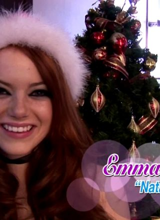 Merry Christmas From Emma Stone