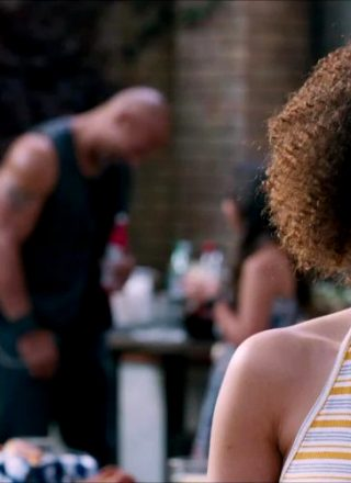 Nathalie Emmanuel In Fate Of The Furious