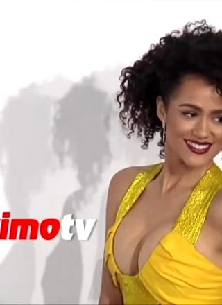 Nathalie Emmanuel – Yellow Dress