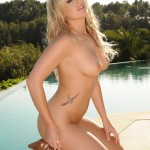 Amy Green – Cowgirl Boots Poolside Strip - 22