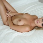 Amy Green – Naked On Her Bed - 8
