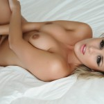 Amy Green – Naked On Her Bed - 9