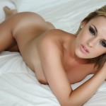 Amy Green – Naked On Her Bed - 12