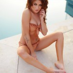 Becky Holt – Slips Out Of Her Bikini And Gets Naked By The Pool - 8