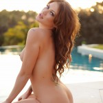 Becky Holt – Slips Out Of Her Bikini And Gets Naked By The Pool - 10