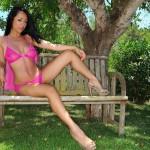 Bobbi Marie – See Thru Pink Lingerie - 0