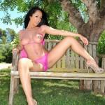 Bobbi Marie – See Thru Pink Lingerie - 9