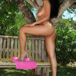 Bobbi Marie – See Thru Pink Lingerie - 23