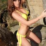 Carrie Spencer – Nude From Yellow Bikini - 3