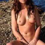 Carrie Spencer – Nude From Yellow Bikini - 23