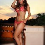 Chloe Saxon – Reb Bikini At Sunset - 0