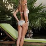 Julia Crown – White And Gold Bikini - 4