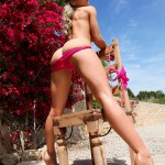 Kayleigh P – Stripping From Red See Thru Bra And Panties - 21
