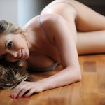 Leah Francis – Sexy Strip By The Window - 10