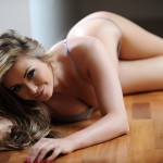 Leah Francis – Sexy Strip By The Window - 11