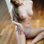 Leah Francis – Sexy Strip By The Window - 20