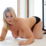 Lyla Ashby Peeling Off Her Brown Lingerie - 23