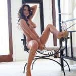 Georgie Serino – White Bra And Thong In Bedroom - 19