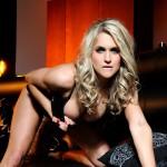 Kayleigh P – Black Bra And Panties - 8