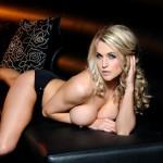 Kayleigh P – Black Bra And Panties - 21
