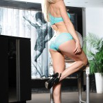 Kayleigh P – Green Lingerie - 5
