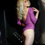 Kayleigh P – Purple Bodysuit - 4
