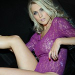 Kayleigh P – Purple Bodysuit - 10