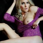 Kayleigh P – Purple Bodysuit - 13