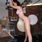 Natalie Taylor – Multi Colour Bikini - 9