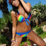 Sasha Cane – Sasha Looks Cute As She Peels Off Her Bikini - 4