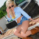 Amy Green – Sexy Truck Cowgirl - 9